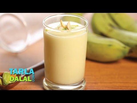 Fruit and Nut Milkshake (Pregnancy Protein Rich Recipe) by Tarla Dalal