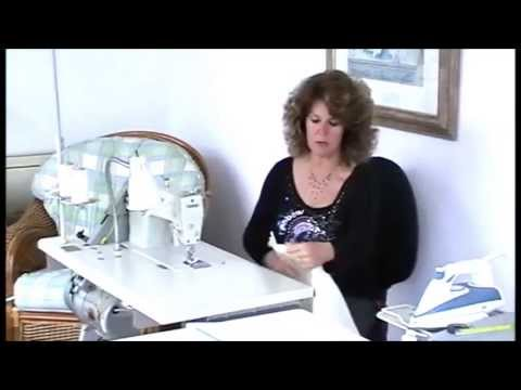 MAKING CURTAINS - YouTube - Part 2 Machining and Hand Sewing your curtains.