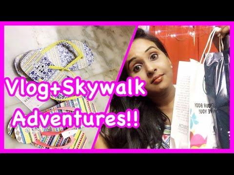 Vlogging at Anna nagar & Skywalk Haul !!