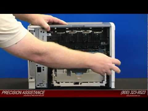 HP LaserJet P3005 Maintenance Kit Instructions
