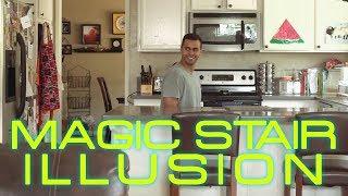 Magic Stair Illusion   David Lopez