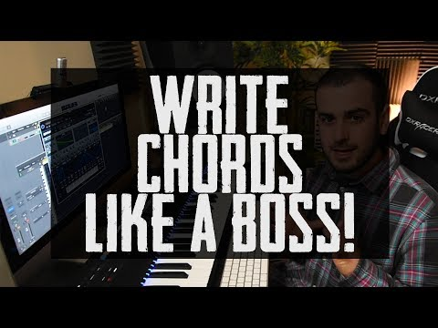 My bulletproof Method to Writing Perfect Chords!! (no music theory needed)