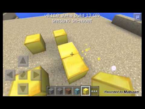 HOW to Go into the nether in Creative minecraft pe