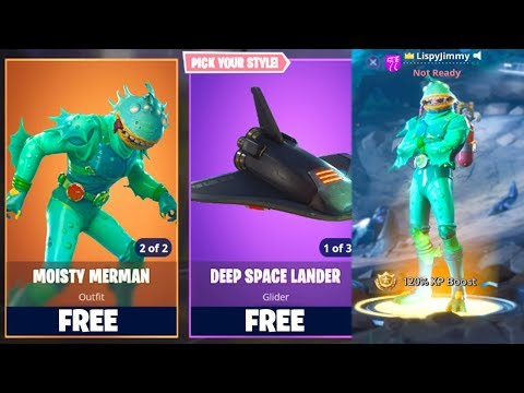 How To Get FREE SKINS In Fortnite: Battle Royale! [PS4, Xbox One, PC] (MOISTY MERMAN SKIN) *NEW*
