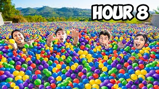 Last to Leave Ball Pit Swimming Pool - Challenge