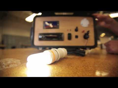 Waterproof Solar-Powered Boombox