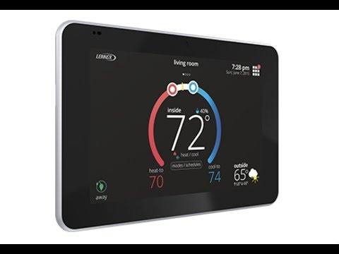 Lennox iComfort S30 Smart Thermostat Review HVAC