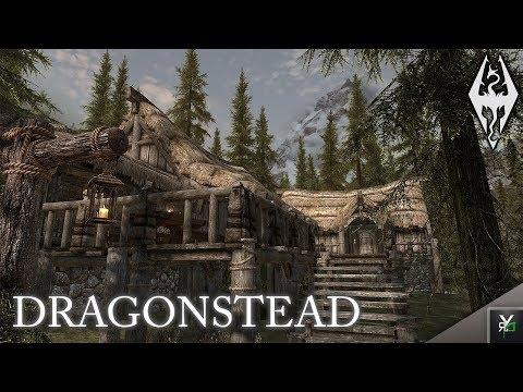 DRAGONSTEAD: Player Home Mod- Xbox Modded Skyrim Mod Showcase