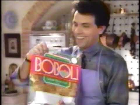 Boboli  - Commercial  - Italian Bread Shell -  Pizza Crust  - More than a Pizza (1993)