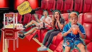 We Turned Our BEDROOM Into A MOVIE THEATRE! (YOU WON'T BELIEVE IT!) | The Royalty Family