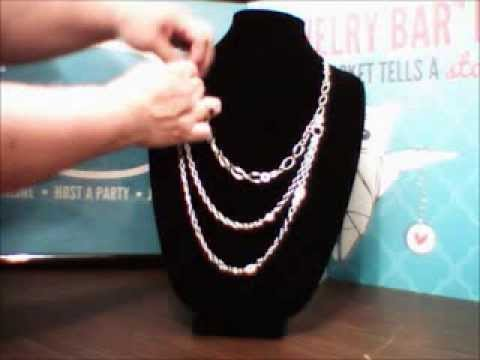 Origami Owl ® Necklace Using Layered Chains