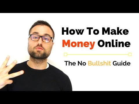 How To Make Money Online: The No B's Guide
