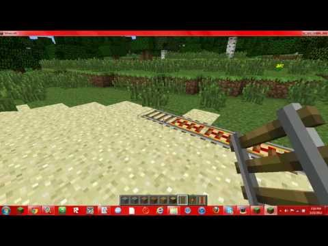Minecraft: How To Make A Powered Rail System
