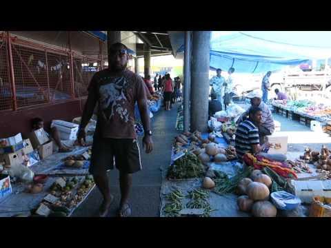 Lautoka Street Market, Viti Levu, Fiji