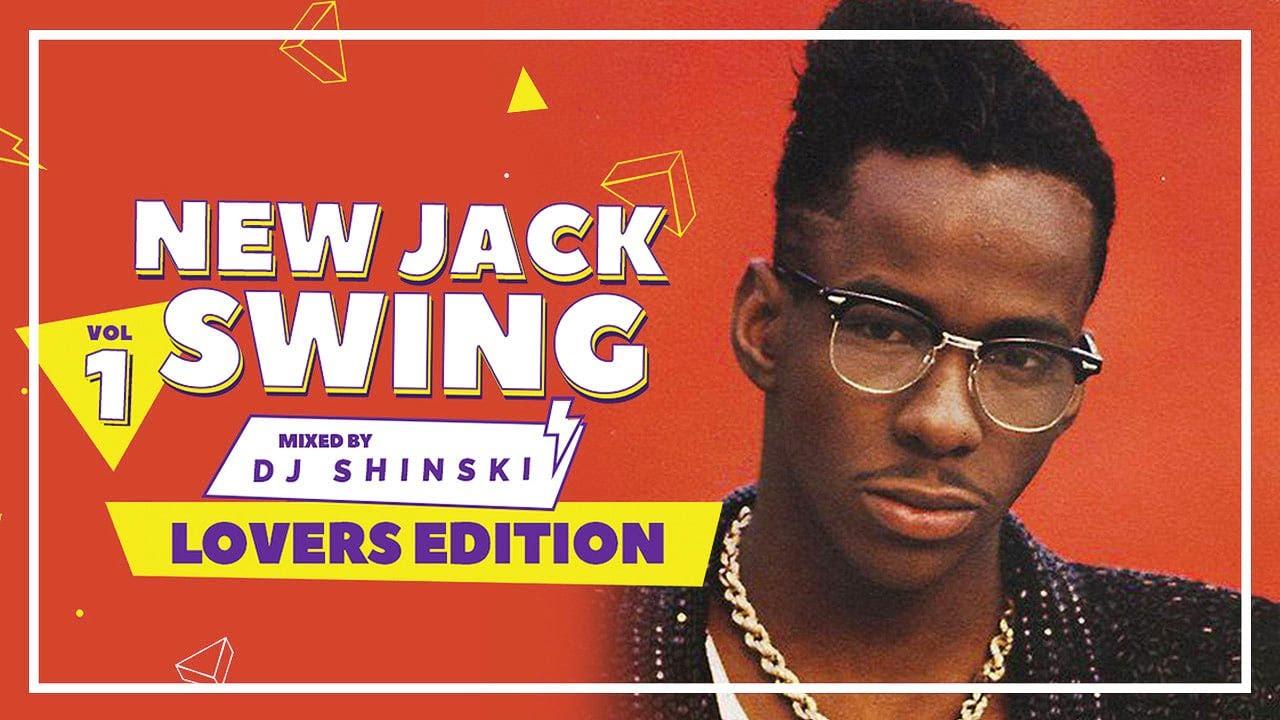 New Jack Swing Party Hits Vol 1- Dj Shinski [Bobby Brown, New Edition, Baby Face, Teddy Riley]