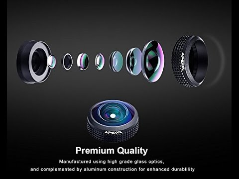 Best Fisheye Lens for Smartphone - Apexel Universal HD 8mm Fisheye Lens