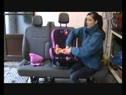 Cosatto Moova group 1 car seat cover removal