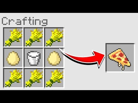 Minecraft : How To Make  A PIZZA (NO MODS) (Ps3/Xbox360/PS4/XboxOne/PE/MCPE)