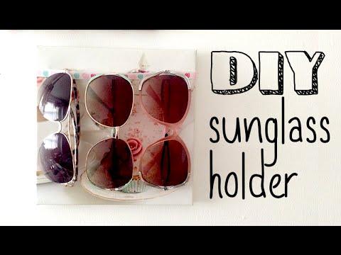 DIY│Sunglass Holder