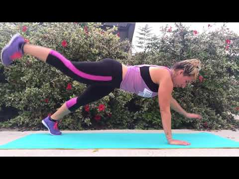 Fav A Little Obsessed exercises - Abs & Booty!