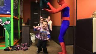 Тюмень заказ аниматора для детей человек паук детские праздники Шоссейная улица (поселок станции Крекшино)