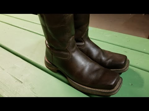 The best way to clean brown leather boots