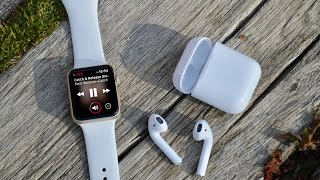 AirPods Review / the best Apple Watch Accessory?