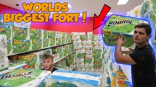 Perfect Toilet Paper Fort Remodelling