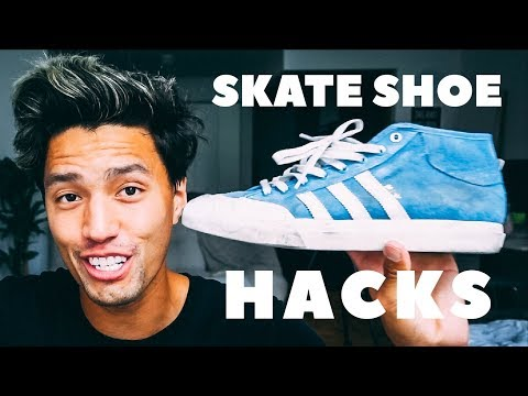 4 HACKS TO SAVE YOUR SKATE SHOES!!