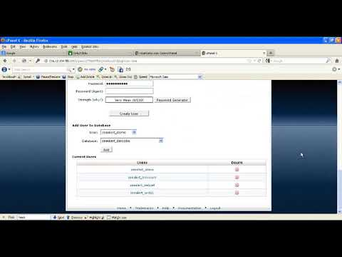 Step3 Create a database and give permission to user to access DB -website migration tutorial