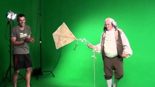 EPIC RAP BEHIND THE SCENES: Ben Franklin vs. Billy Mays