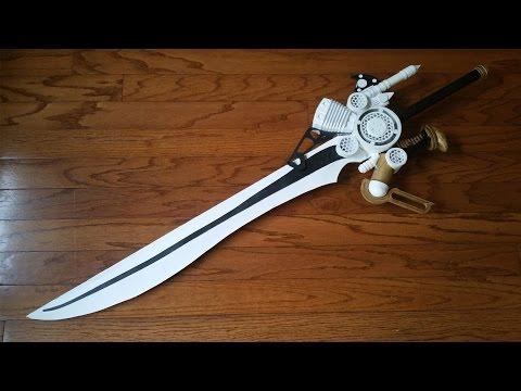 Building Noctis's Engine Blade (Final Fantasy XV)