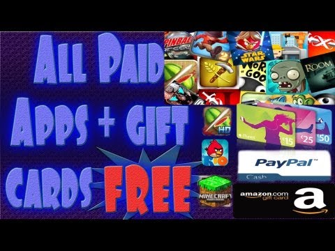 App nana - how to use ios device to get any app in the appstore free and eGift cards free too!