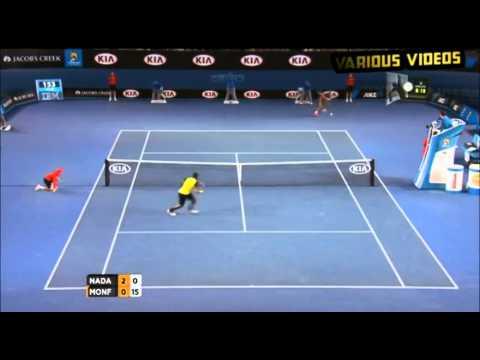 Xxx Mp4 Rafael Nadal Vs Gaël Monfils Highlights Australian Open 2014 3gp Sex
