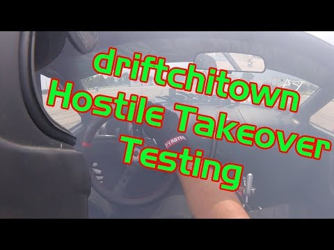 driftchitown Hostile Takeover Course Set Up / Testing