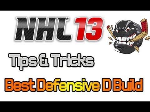NHL 13 Player Build Tips: BEST Defensive D For EASHL