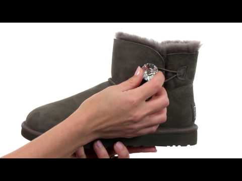 UGG Mini Bailey Button Bling SKU:8405909