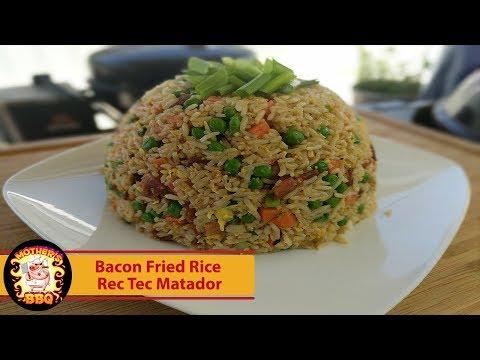 Rec Tec Grills Matador - Bacon Fried Rice