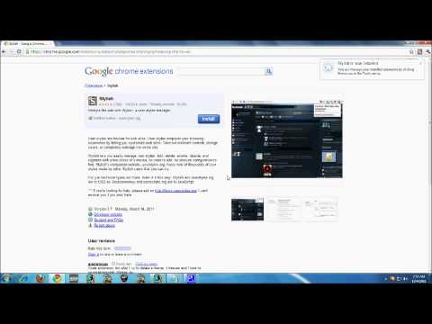 How To Change FaceBook Themes On Google Chrome Beta