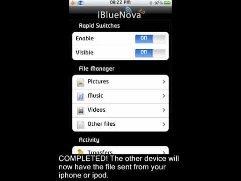 ibluenova App for Iphone & Ipod Touch! Bluetooth Hack