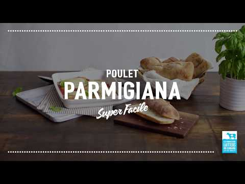 Poulet parmigiana   Calendrier du lait 2018