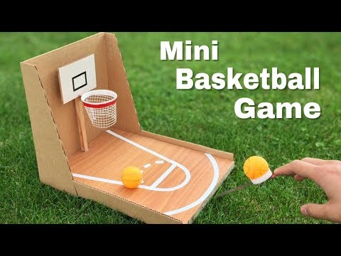 How to Make Amazing DIY Basketball Game at Home Out of Cardboard - Easy to Build