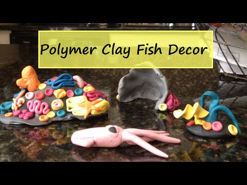 Fish Decor- Polymer Clay DIY