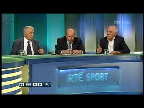 The RTÉ Soccer panel on James McCarthy and Trapattoni