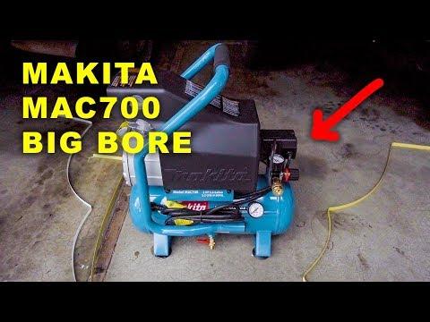 Makita MAC700 Big Bore Air Compressor Unbox & Startup