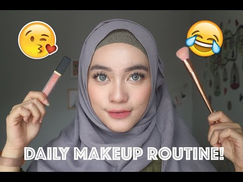 DAILY MAKEUP ROUTINE ! - FIST TALKING VIDEO