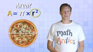 Math Antics Circles Circumference And Area