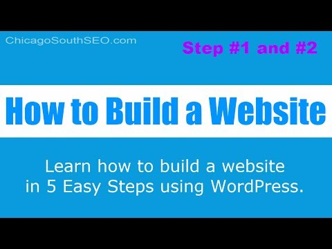 How to Build a Website: Choose a Domain Name & Hosting - Step 1 & 2