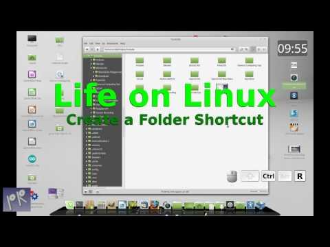 Linux Mint - Create a Desktop Shortcut