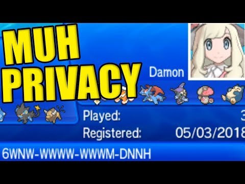 Saving A Pokemon Battle Video IS AN INVASION OF PRIVACY?!